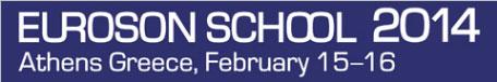EUROSON School 2014